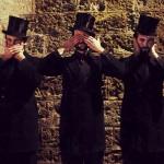 Three Monkeys in Top Hats