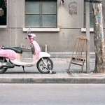 The Pink Scooter