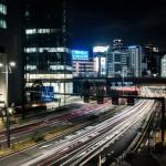 Quiet Shimbashi Road