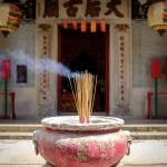 Incense for Tin Hau