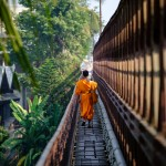 Monk on the Bridge